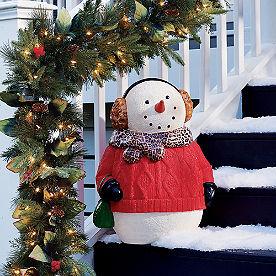 Susie Snowman Figure