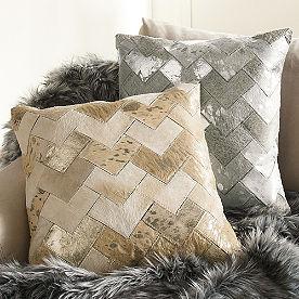 Deco Natural Hide Pillow