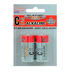 C Batteries, 2 Pack