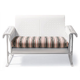 Retro Perfectly Suited Loveseat Glider Cushion