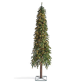 Pre-Lit Evergreen Alpine Tree