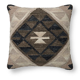 Neutral Kilim Tokat Pillow