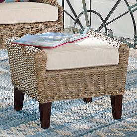 Kent Ottoman with Cushion