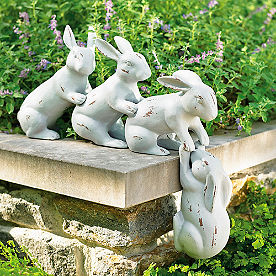Saved By a Hare Sculpture