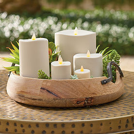 Outdoor Flameless Flicker Candles