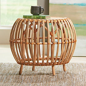 Sairah Rattan Side Table