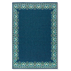 Tortola Global Border Outdoor Rug