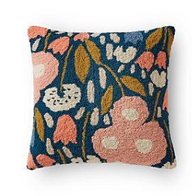 Fleur Hook Pink Multi Pillow