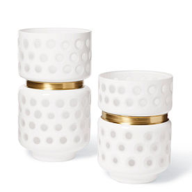 Durban Dot Vase