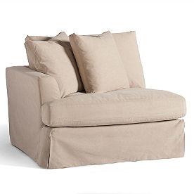 Slipcover for Ava Left-facing Chair
