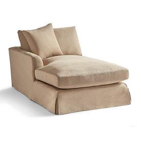 Slipcover for Ava Left-facing Chaise
