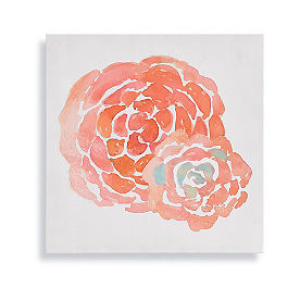 Floral Outdoor Canvas Art