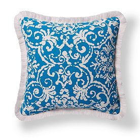 Fringe Square Outdoor Pillow