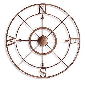 Iron Compass Wall Art