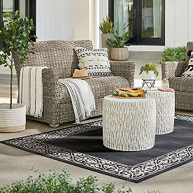 Simsbury Outdoor Wicker Loveseat