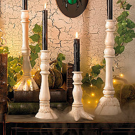 Animal Feet Candle Holders, Set of Four