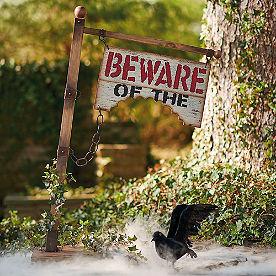 Beware Of Sign