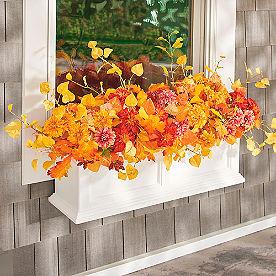 Mum Fall Window Box Filler