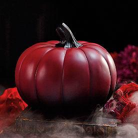 Burgundy Ombre Pumpkin