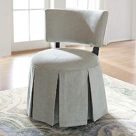Hannah Skirted Chair