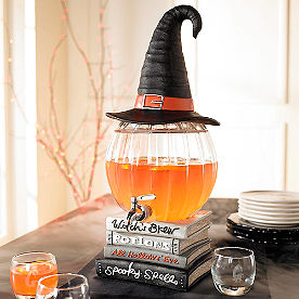 Witch's Brew Pumpkin Beverage Dispenser