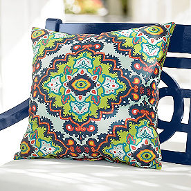 Janice Boho Outdoor Pillow