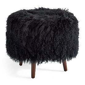 Birdie Mongolian Sheep Fur Cover
