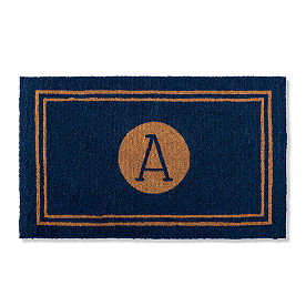 Emery Monogram Doormat