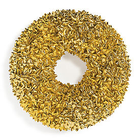 Gold Bow Wreath
