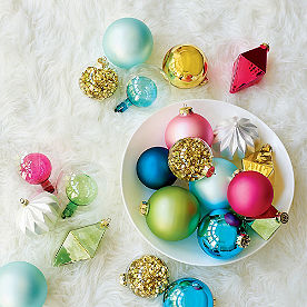 Merry and Bright Ornament Collection, Set of 20