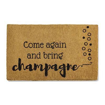 champagne i mat