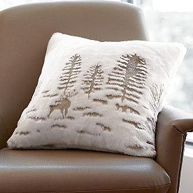 Forest Scene Pillow