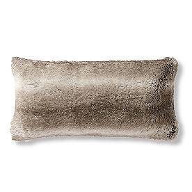 Faux Fur Lumbar Pillow
