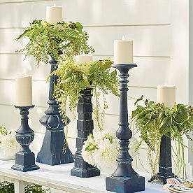 Dover Candle Holders, Set of Five