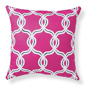 Selena Geometric Outdoor Pillow
