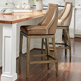 Ellis Textured Swivel Bar & Counter Stool