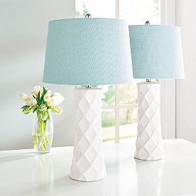 Savannah Table Lamps, Set of Two