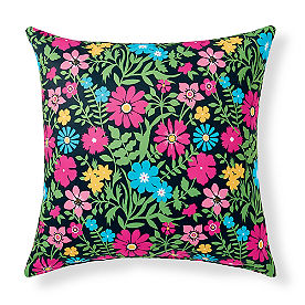 Mila Easton/Black Outdoor Pillow