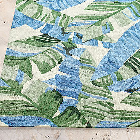 Tropical Palms Outdoor Rug
