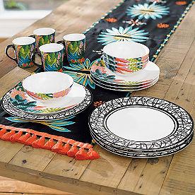 Home Dinnerware. Iris Apfel 16-pc. Dinnerware Set & Home Dinnerware - Grandin Road