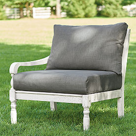 Yorkshire Left-facing Arm Chair with Cushions