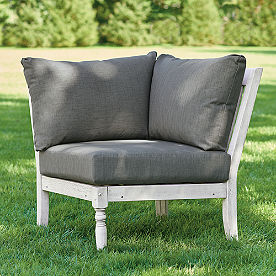 Yorkshire Sectional Corner Chair with Cushions