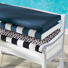Knife-edge Bench Cushion