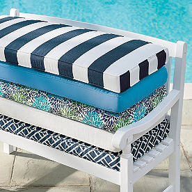 Piped Bench Cushion
