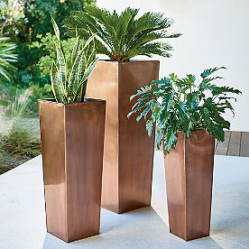 Column Planter with Insert