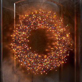 600-light Halloween Wreath