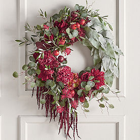 Rustic Floral Wreath