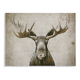 Maxwell the Moose Wall Art