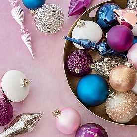 Visions of Sugarplums Ornament Collection, Set of 20