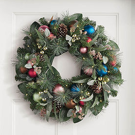 Sugarplum Cordless Wreath
